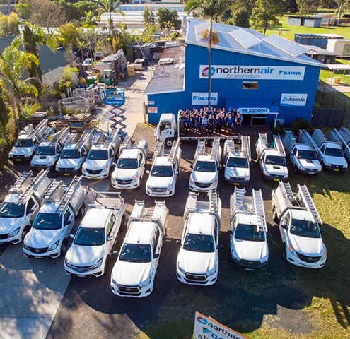 Store Top View — Air Conditioning in Lismore NSW